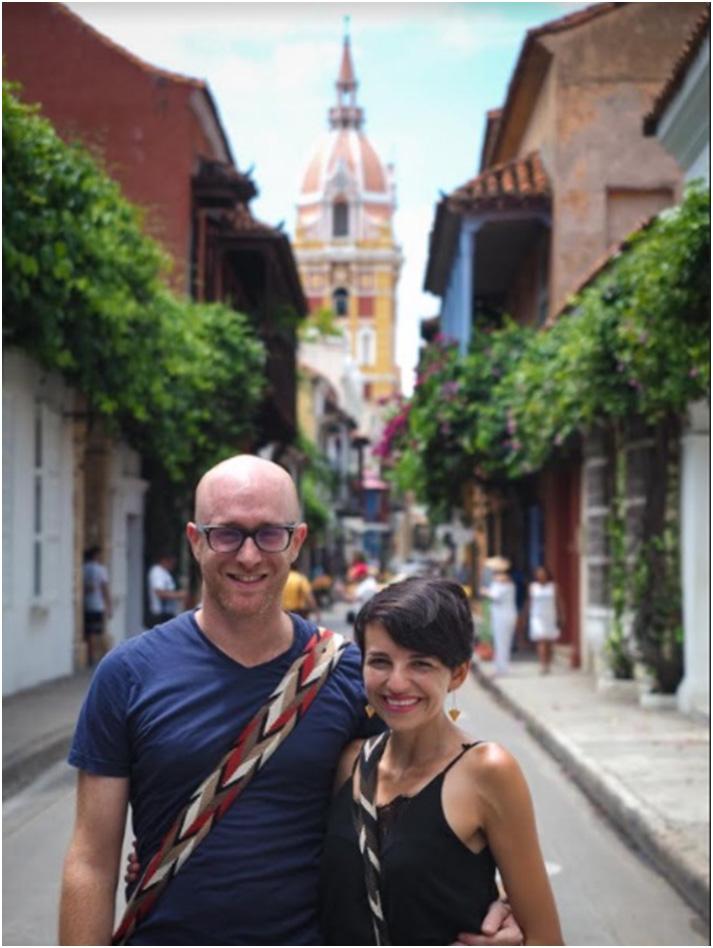 Aujourd'hui votre dévouée Tía est partie à la rencontre d'Angelica, co-fondatrice du blog Mon voyage en Colombie https://monvoyageencolombie.com/